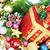 kırmızı · Noel · hediye · süsler · ağaç · sunmak - stok fotoğraf © kurhan
