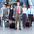 Group of business people at the airport. stock photo © Kurhan