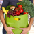woman hands with grocery bag of vegetables stock photo © kurhan