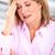 nő · fejfájás · idős · nő · stressz · depresszió · kezek - stock fotó © kurhan