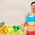 女性 · 巻き尺 · グレー · 腹部 - ストックフォト © kurhan