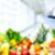 feminino · escrita · prescrição · frutas · secretária - foto stock © kurhan