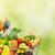 vegan · compras · mulheres · jovens · produtos · supermercado - foto stock © kurhan