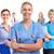 vonzó · kaukázusi · orvos · csapat · nő · egészség - stock fotó © kurhan
