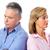 infeliz · casal · casal · de · idosos · relação · separação - foto stock © kurhan