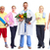 group of healthy fitness people stock photo © kurhan