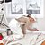 woman painting trim stock photo © kurhan
