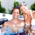 happy couple in jacuzzi stock photo © kurhan