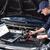 coche · mecánico · de · trabajo · auto · reparación · servicio - foto stock © Kurhan