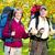 senior · turistas · casal · caminhadas · parque · mulher - foto stock © kurhan