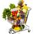 full grocery cart stock photo © kurhan