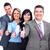 group of business people success stock photo © kurhan
