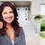 real estate agent woman near new house stock photo © kurhan