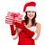 yardımcı · Noel · kız · sunmak · güzel - stok fotoğraf © Kurhan