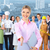 business woman and group of industrial workers stock photo © kurhan