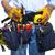 работник · инструментом · пояса · изолированный · белый · мужчин - Сток-фото © kurhan
