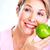 idős · nő · alma · diéta · egészséges · életmód · étel - stock fotó © Kurhan