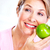 senior · mulher · maçã · dieta · comida - foto stock © Kurhan