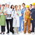 group of industrial workers stock photo © kurhan