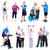 fitnessz · tornaterem · csoport · egészséges · emberek · férfi - stock fotó © Kurhan