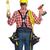handyman · capacete · retrato · trabalhador · isolado · cinza - foto stock © kurhan
