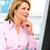 retrato · maduro · mulher · de · negócios · trabalhando · laptop · concentrado - foto stock © kurhan
