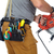 builder handyman with electric saw stock photo © kurhan