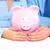 couple with a piggy bank stock photo © kurhan