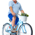 elderly man with bicycle and vegetables stock photo © kurhan