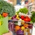 woman with grocery bag of vegetables stock photo © kurhan
