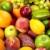 diverzitás · friss · gyümölcs · gyümölcs · színes · izolált · fehér - stock fotó © kurhan