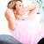 idős · nő · jóga · egészséges · életmód · egészség · szépség - stock fotó © Kurhan