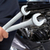 hand of mechanic with wrench stock photo © kurhan