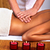 mulher · jovem · estância · termal · massagem · salão · relaxar · mulher - foto stock © Kurhan