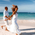 カップル · 愛 · を実行して · ビーチ · 地中海 · 女性 - ストックフォト © kurhan