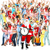 Christmas Santa and a group  of happy people. stock photo © Kurhan