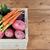 овощей · окна · органический · случае · деревянный · стол · продуктовых - Сток-фото © Kurhan