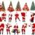 natal · sorridente · árvore · de · natal · branco · festa - foto stock © Kurhan