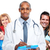 medical doctor and happy family stock photo © kurhan