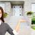 agent · immobilier · femme · d'affaires · portrait · belle · asian · femme · d'affaires - photo stock © kurhan