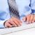 ビジネスマン · ハッカー · 手 · ノートパソコンのキーボード · セキュリティ · ビジネス - ストックフォト © kurhan