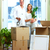 happy couple moving in a new house stock photo © kurhan