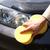 autó · mosás · kéz · ruha · gyantázás · fehér - stock fotó © kurhan