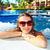 mulher · jacuzzi · relaxante · férias · caribbean · recorrer - foto stock © Kurhan
