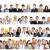 emberek · csoport · mosolyog · fehér · férfi · nők - stock fotó © Kurhan