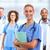 jonge · medische · arts · vrouw · glimlachen · vrouw · gezondheidszorg - stockfoto © Kurhan