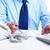 mãos · empresário · trabalhando · moderno · escritório · negócio - foto stock © Kurhan