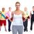 fitness · feliz · ancianos · Pareja - foto stock © kurhan
