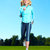 happy jogging woman stock photo © kurhan