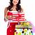 hermosa · qué · Navidad · presente · comprar - foto stock © kurhan